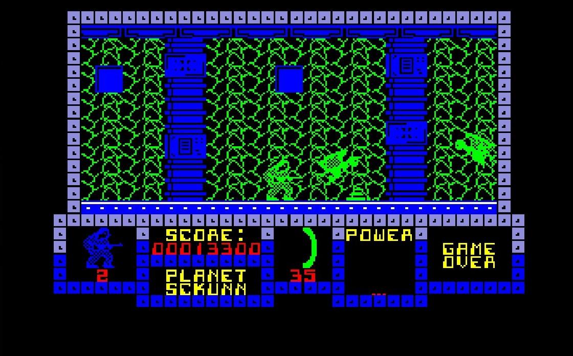 Les choix de couleurs et de textures nuisent parfois légèrement (c'est un euphémisme) à la lisibilité du jeu.