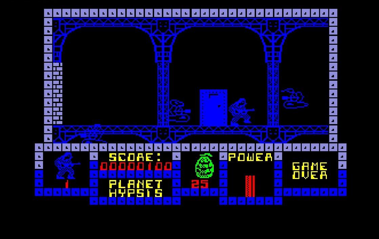 Le tout premier tableau du jeu. L'ambiance gothique (et austère) est donnée.