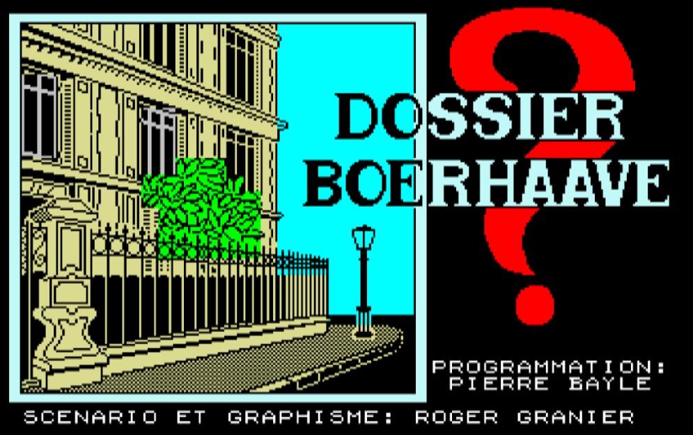 Mais qui a donc tué madame Boerhaave ?